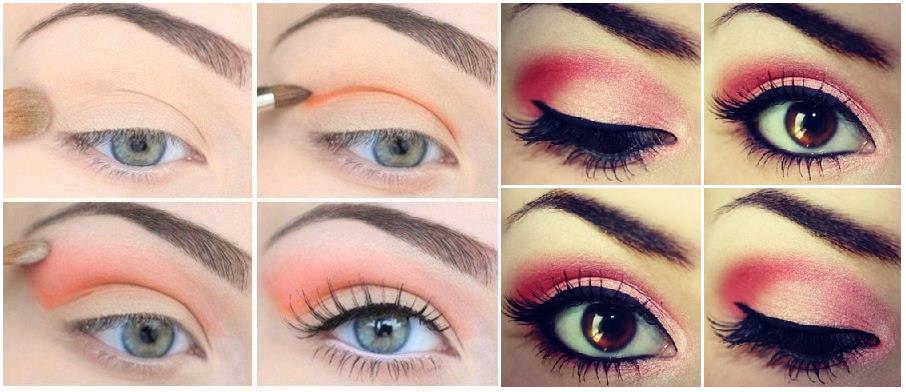 maquiagem colorida para o dia a dia