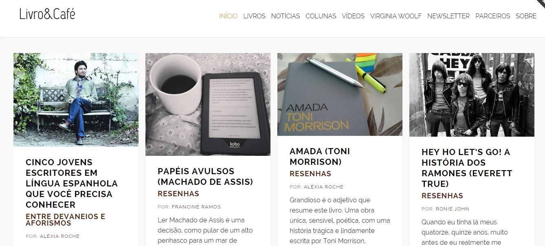 blog livro e café