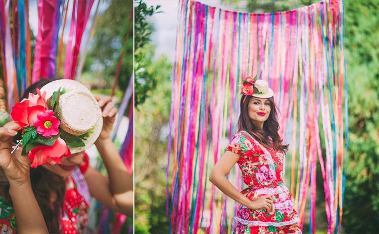 look chapeu de palha festa junina