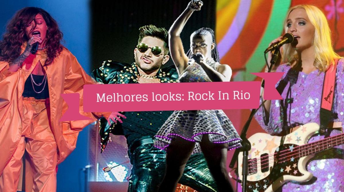 Melhores Looks Rock in Rio