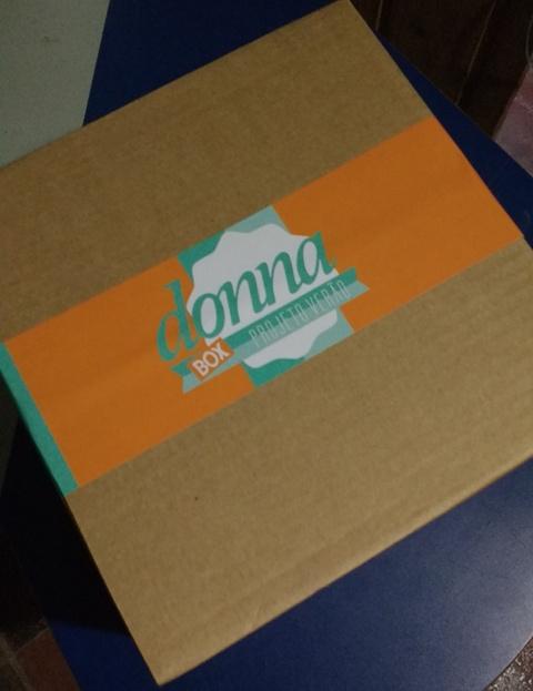 Caixa de produtos Donna Box