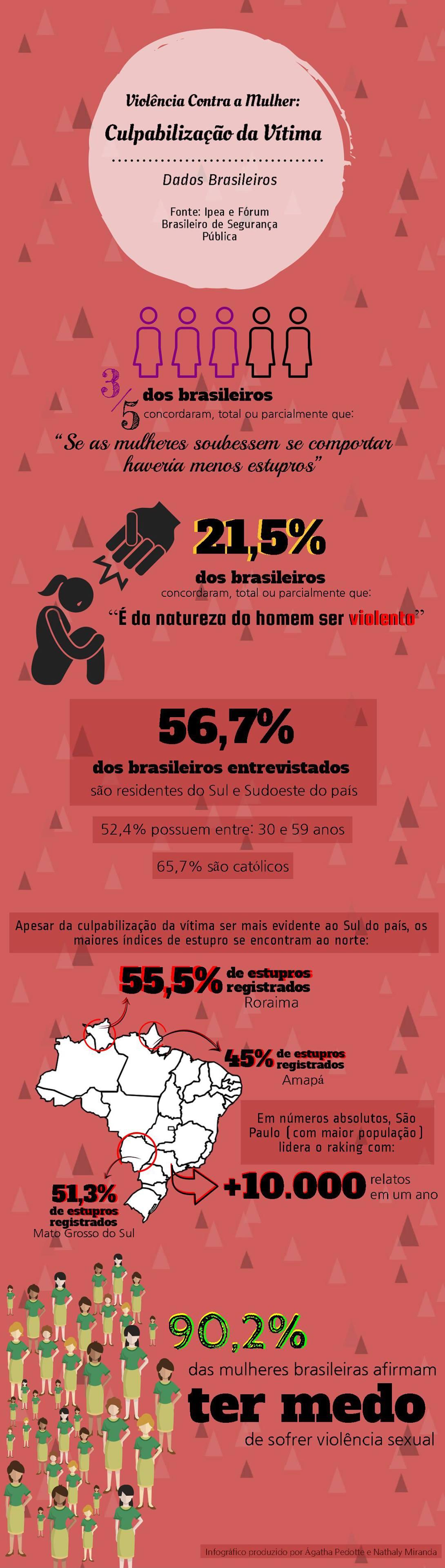infográfico sobre a violência contra a mulher