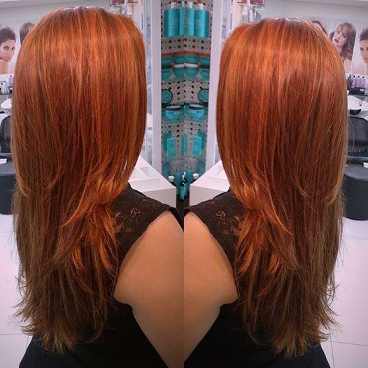 Cabelo ruivo acobreado ou cabelo ruivo cobre