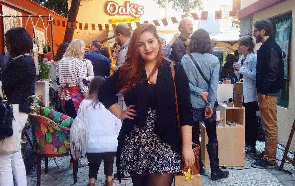 Blogueira Bruna Tesch na open feira de design