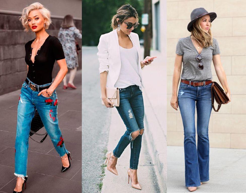 Look estiloso com jeans