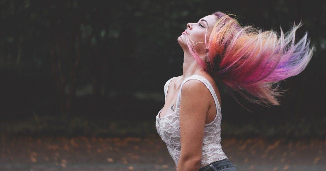 Hidratação de cabelo