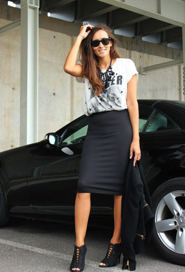 14 Ways to Rock the Style of Pencil Skirts