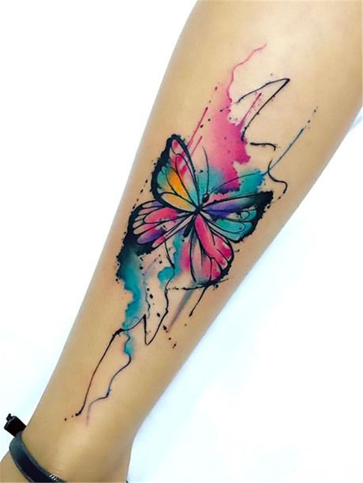 55 Amazing And Gorgeous Watercolor Tattoo Ideas You