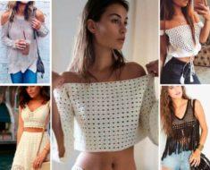 Blusas de crochê: os modelos que mais fazem sucesso em 2020