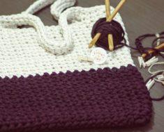 Bolsa de crochê: 39 modelos cheios de estilo para você!