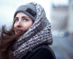 Cachecol de tricô: veja diferentes maneiras de usar
