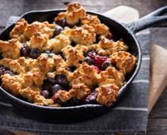 Crumble: conheça essa sobremesa que vai conquistar o seu paladar