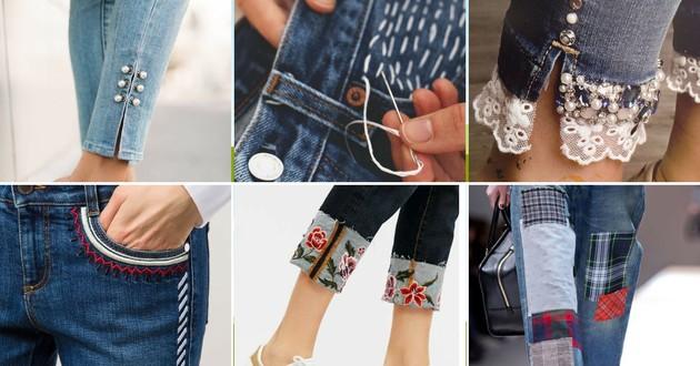 customizar calça jeans