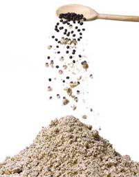 farinha soja preta