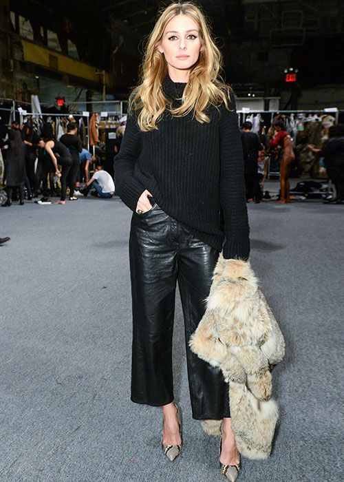 How To Wear Leather Culottes Like A Pro This Season