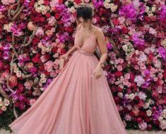Inspire se com lindos vestido de madrinha rosé