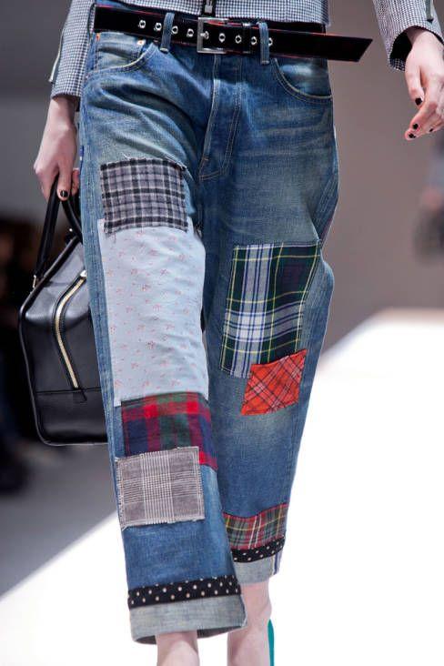 Junya Watanabe Fall 2013 Ready to Wear Detail