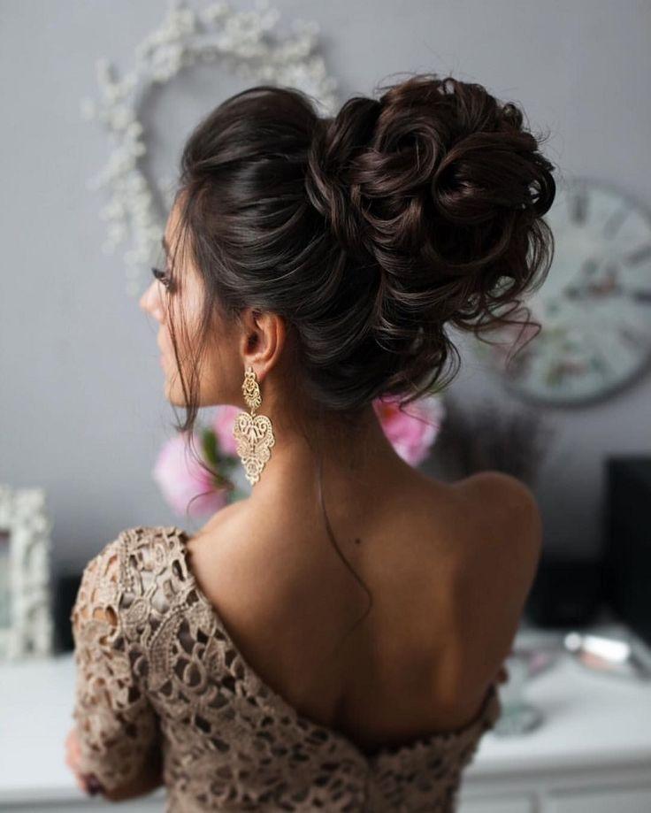 Penteados para festa de casamento