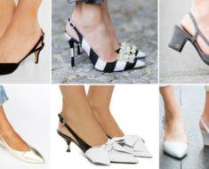 Slingback: como usar o sapato que é sinônimo de sofisticação