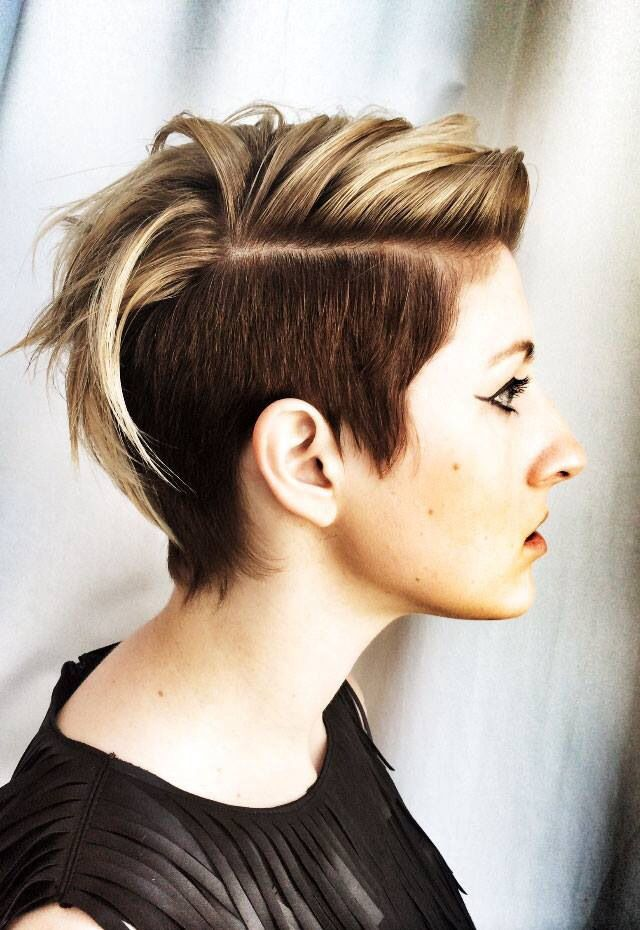 Undercut Color and Cut by TIGI